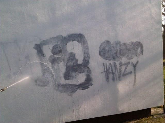 Odstránenie čistenie graffiti Zvolen